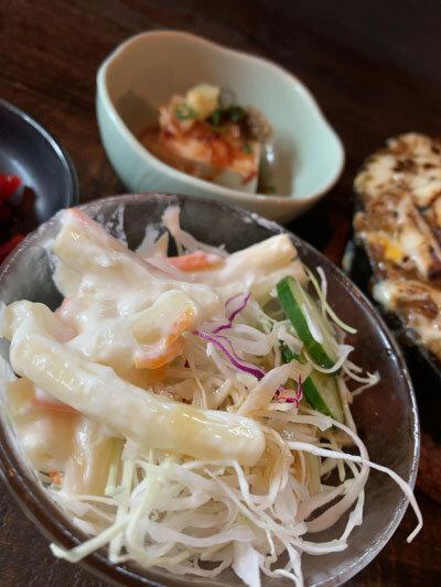 姫路 居酒屋 BOOZE ランチ サラダ