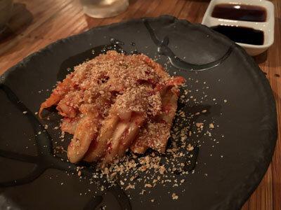 明石 麺や 一福 キムチ