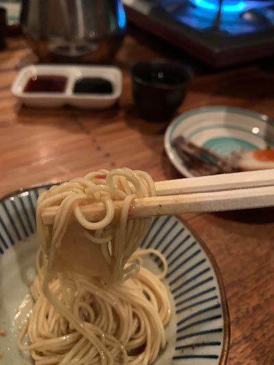 明石 麺や 一福 もつ鍋 〆ラーメン