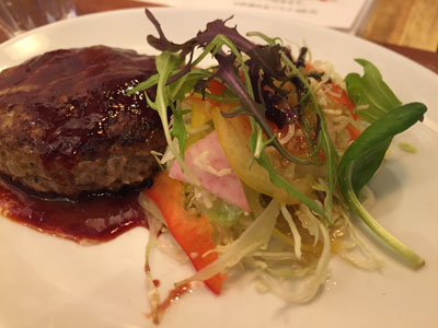 姫路 肉バル TSUMUGIYA ランチ サラダ
