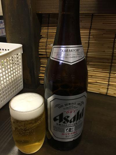 明石 いくら家 瓶ビール