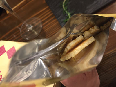 姫路 ワインバル kagen 常連さんのお土産