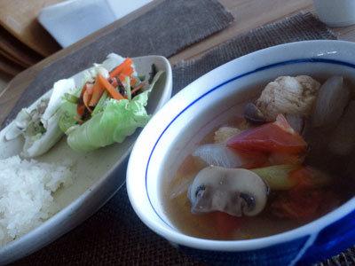 姫路 ラオス料理 ラオスの食堂 スープ