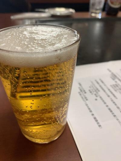 網干 お好み焼き スマイル 瓶ビール