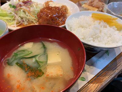 久留米 お食事処 味川 お昼ごはん