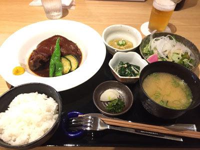 姫路 沖縄 Agu 本店 豚足定食