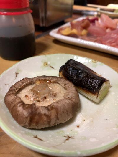 姫路 焼き鳥 角 焼き野菜