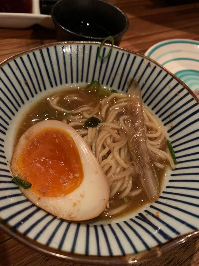 明石 麺や 一福 もつ鍋 〆 ラーメン