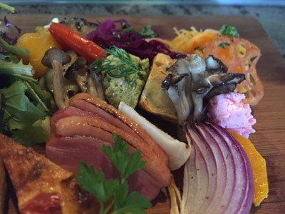 姫路 ブエナビスタ ランチプレート 野菜