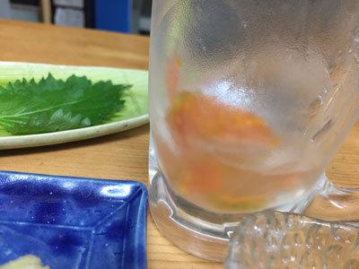明石 鮪屋の食堂 海路 トマトチューハイ