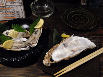 加古川 居酒屋 ダイフク 兵庫産 生牡蠣