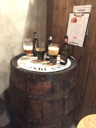 姫路 C・B DINNER JOHSON クラフトビール吞み比べ