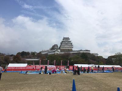 姫路城 観桜会 2018
