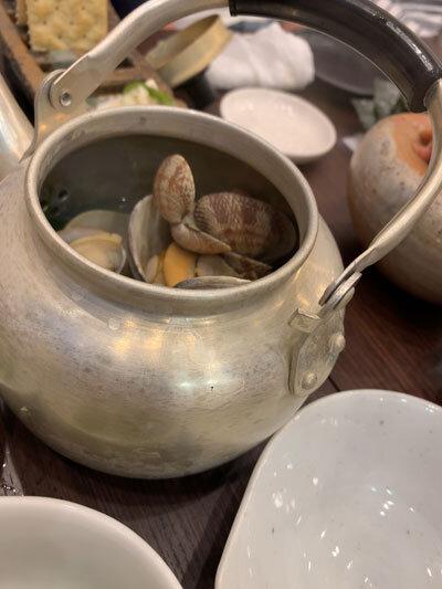 姫路 居酒屋 魚っと ハマグリの酒蒸し