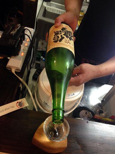 西明石 立呑み あいわ 日本酒 信野鶴