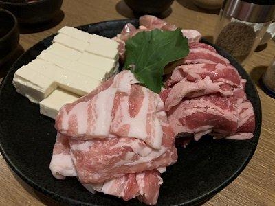 大阪 草鍋 えんや 肉類