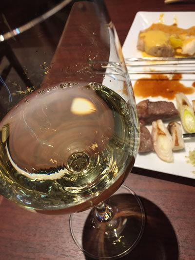 姫路 ステーキ&ハンバーグ 富士亭 白ワイン