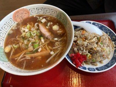 瀬戸内 中華 祇園飯店 ラーメンセット
