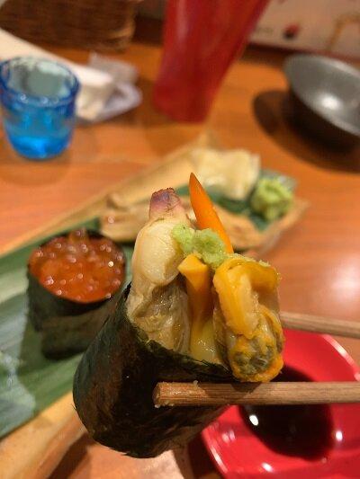 姫路 寿司バル アバンサール タイラギ