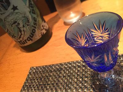 姫路 酒酔 楓香 タコイズブルー