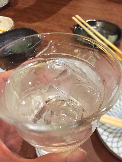姫路 駅前 おばんざい おのえ 焼酎ロック