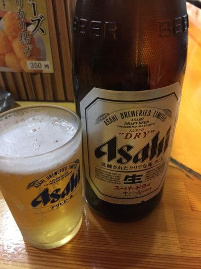 姫路 広畑 夢前川 お好み焼 寿 ビール