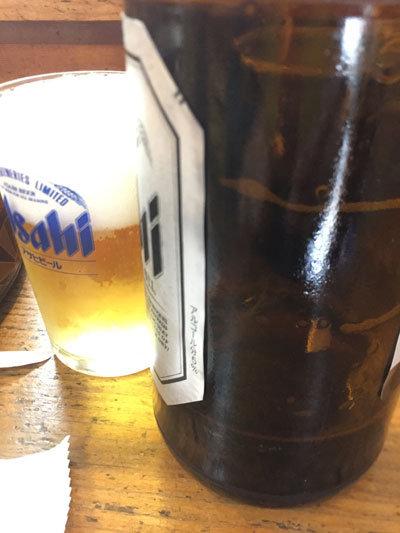 姫路 広畑 太閤寿し 瓶ビール