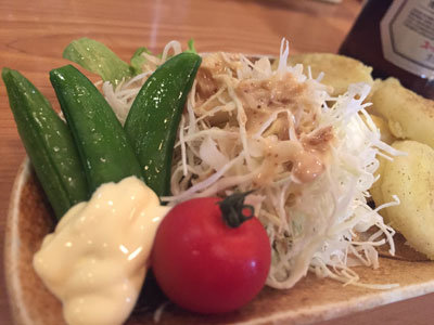 姫路 家庭料理のお店 ひとみ サラダ