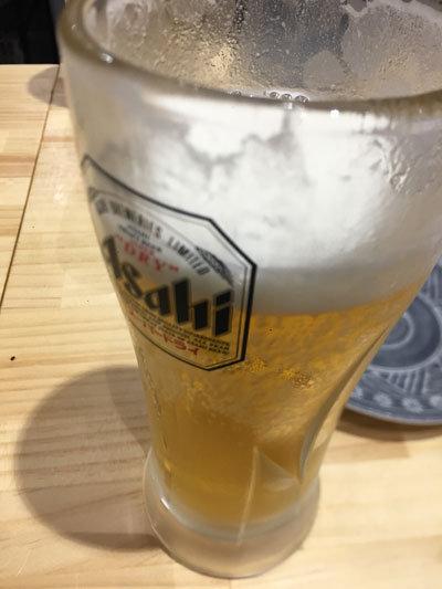 姫路 肉酒場 肉のまるまさ 生ビール