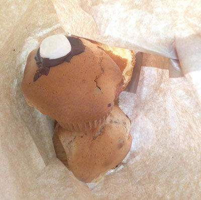 明石 魚の棚 マフィン No123 チョコレートマフィン