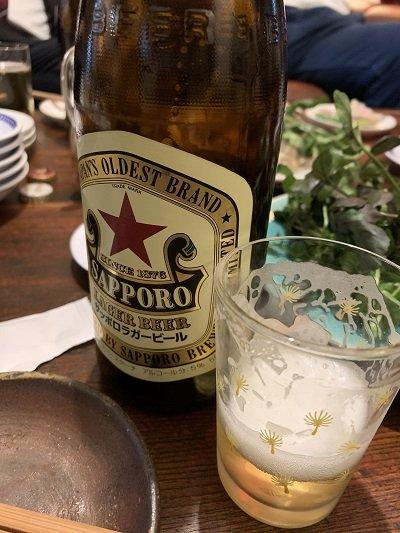 神戸 元町 広東料理 鷹楽園 瓶ビール