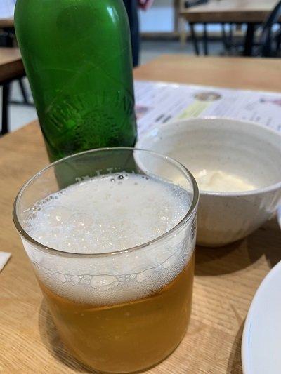 龍野 クラテラス ランチ ビール