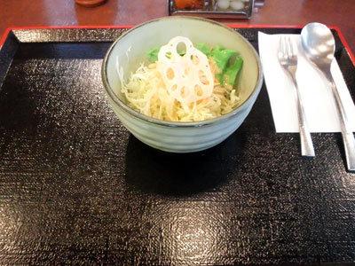 神戸 三ノ宮 串揚げ&カレー 串心 サラダ