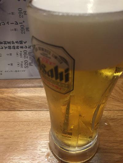 姫路 ぎょうざ からあげ ビアホール 英洋軒 生ビール