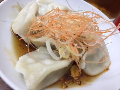 明石 台湾料理 群ちゃん 水餃子