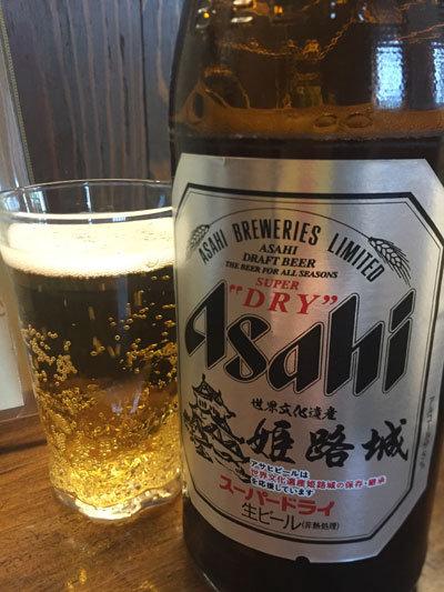 姫路 おばんざい 安愚楽 瓶ビール