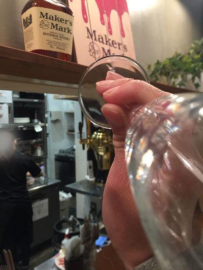 明石 ステーキ酒場 MORISHIN スパークリングワイン