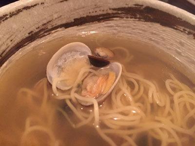 神戸 ラーメン ボンゴレ亭 貝汁そば 貝