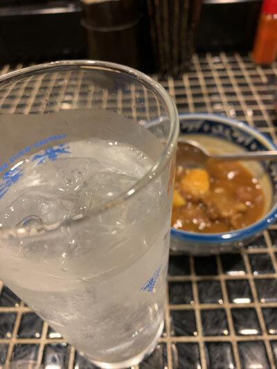 姫路 焼肉 ホルモン 五味屋 チューハイ