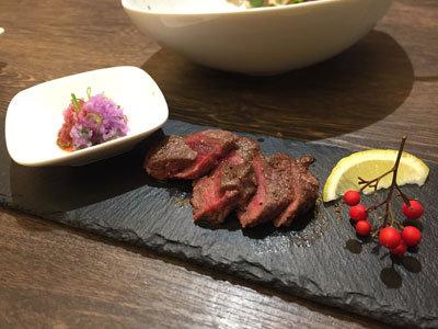 姫路 ジビエ料理 Pinari 鹿肉