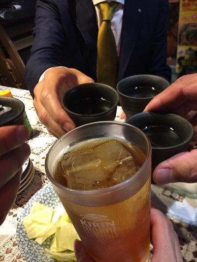 姫路 焼鳥 きむら 乾杯