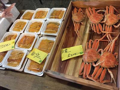 姫路 市場祭り 2017 冬 蟹 ウニ
