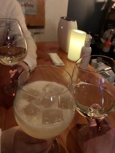 姫路 wine&cafe Reviere 乾杯