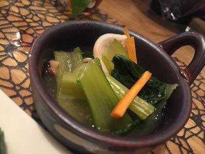 姫路 おばんざい eん イカと菜っ葉