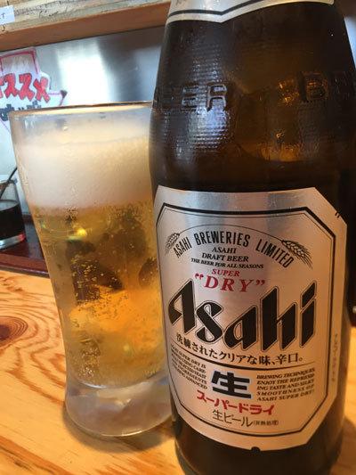 姫路 ラーメン タンメン姫路 瓶ビール