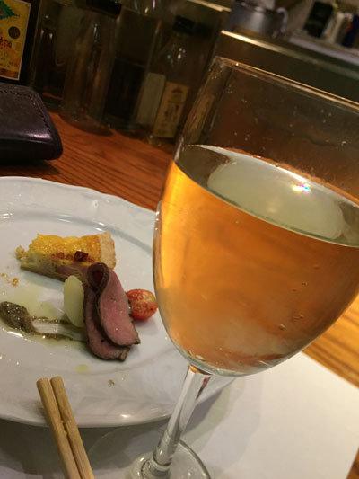 姫路 まちなかバル シェ・アリガ 白ワイン