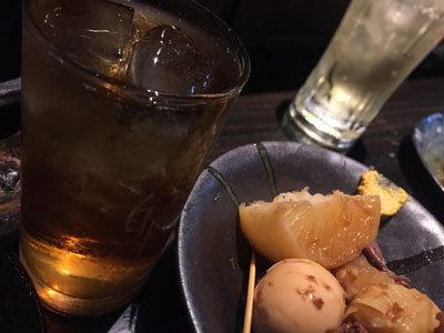 姫路 路地裏 プロ酒場 麦焼酎