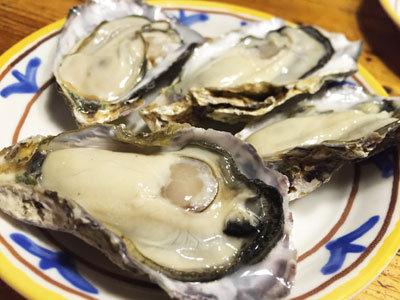 赤穂 レストラン 初音 生牡蠣