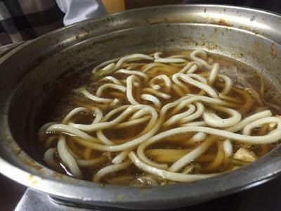 姫路 お食事処 さんじゅう 鴨鍋 うどん