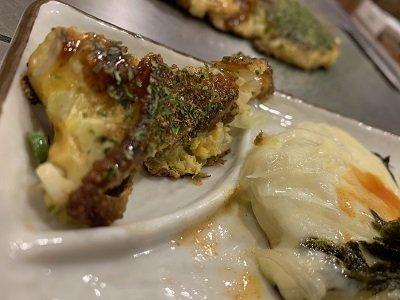 京都 お好み焼き きらく 取り皿